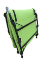Folding Camping Bed - Padded - Florescent  Green