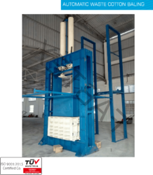Automatic Waste Cotton Baling Press