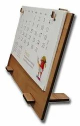 Customized Table Calendar with MDF Stand