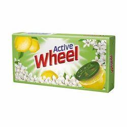 HUL Active Wheel 120gm Bar, Shape: Rectangle