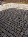 Golden Brown Sandstone Cobbles