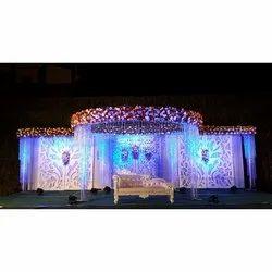 Wedding Stage Reception Decoration Service, Hyderabad