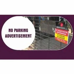 No Parking SunBoard Advertising Service