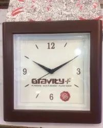 Square Promotional Wall Clock