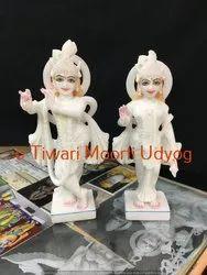 Marble Lord Krishna Murti