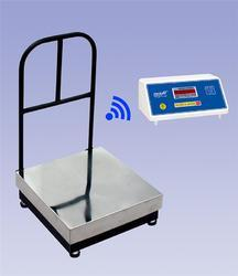 Wireless Platform Scale Without Load Cell Wire