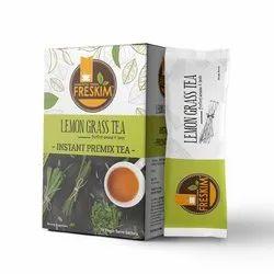 Lemon Flavor Lemon Grass Singal Sachet Instant Tea Premix Powder