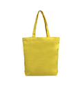 Vertex Loop Handle Yellow Cotton Canvas Bag, Size/dimension: 35x39 Cm