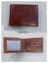 Male Bi Fold Smart Leather Wallet