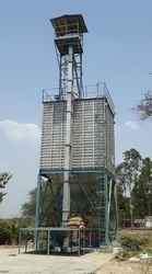 Low Capacity Storage Silo And Material Handling For Farmers