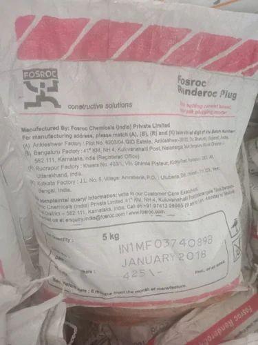 Renderoc Plug Water Leak Plugging Mortar