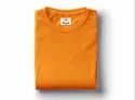 Orange Plain T-Shirt