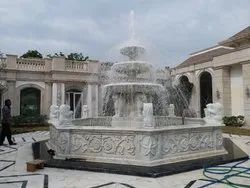 Big Stone Marble Water Fountain