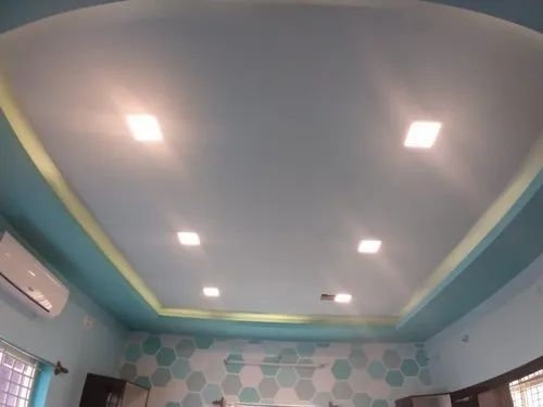 Aluminum Fire Water Proof Gyproc Saint Gobain False Ceiling Thickness 10 Mm Rs 55 Square Feet Id 20820039997