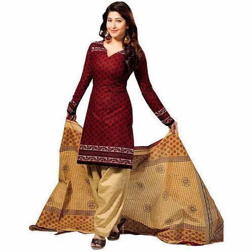 6259157ff6 Wedding Wear Ladies Designer Patiala Suit, Rs 500 /piece | ID ...