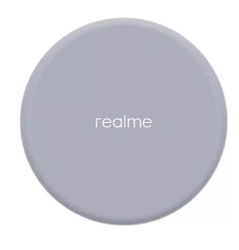 White Electric realme WIRELESS CHARGER