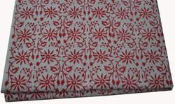 Indian Hand Block Printed Cotton Fabric Jaipuri  Floral Print