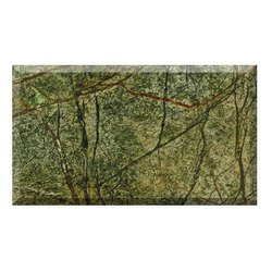 Bidasar Rainforest Green Marble