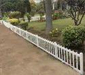 White Frc Garden Picket Fence