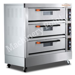 Three Deck  Electric Bakery Oven