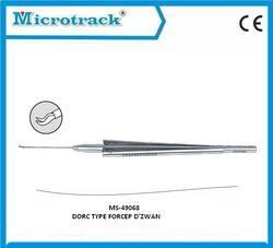 Vitreoretinal Dzwan Forceps - Ophthalmic Surgical Instruments.