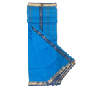 Traditional Maheshwari Cotton Silk Saree, Length: 6.3 M