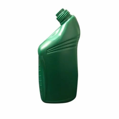 Green HDPE Lubricant Oil Bottle, Capacity: 300 mL