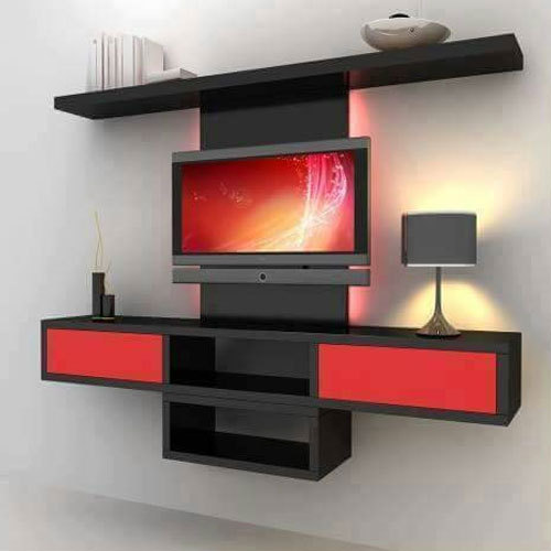 Modern LED TV Wall Unit