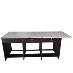 Wooden, Engineered Wood Rectangular, Square Wooden Work Table