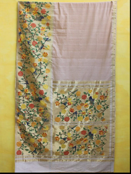 Cottom Paithani Brocade Saree