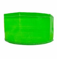 Green Round HDPE Grow Bags