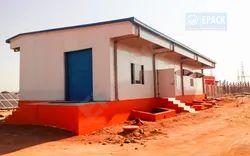 Steel Prefab Solar Control Room