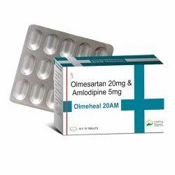 Olmeheal 20AM (Olmesartan 20mg & Amlodipine 5mg)