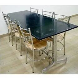 Ss Granite And Wooden Granite Top Dining Table Set Rs 1600 Square Feet Id 21895819730