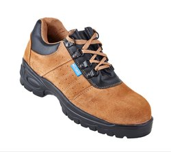 Neosafe Brown Sued Leather Safety Shoe