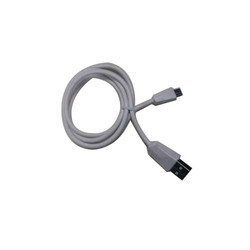 White USB Data Cable