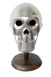 Medieval Horror Armour Helmet Steel Finish Horror Helmet