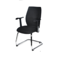 Blaze Black Visitor Chair