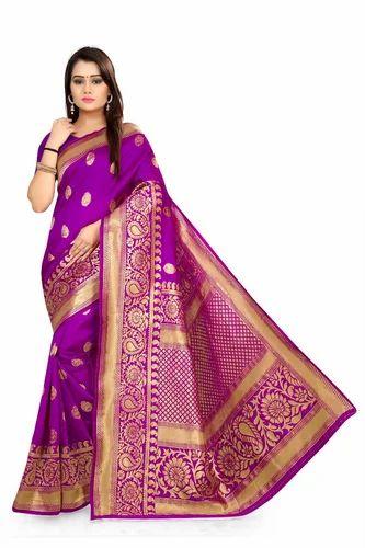 3666ab7d65b Jacquard Art Silk Kanjeevaram Saree