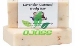 Ojass Lavender Oatmeal Soap, Packaging Type: Plastic Wrap & Paper Box, 100m