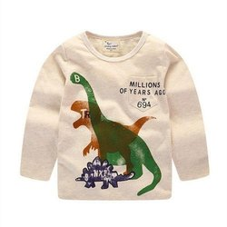 Boys And Girls Kids T-shirt Kids Winter T-Shirts