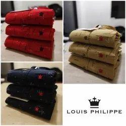 Male Men Cotton Printed Shirt