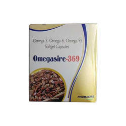 Omegasire 369 Capsules, Packaging Type: Box