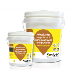 Weber Fix Stone on Dry Wall ans Plywood Adhesive