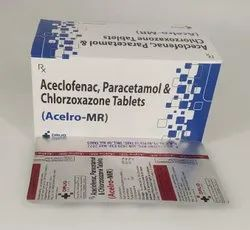 Aceclofenac ,Paracetamol And Chlorzoxazone Tablets