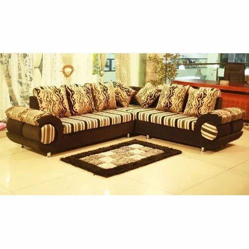 wholesale dealer 298ec 0e25c 5 Seater L Shaped Sofa Set