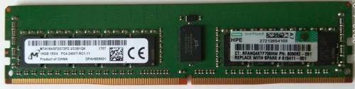 HPE 16GB PC-4 19200 DDR-4 2400T ECC Registered RAM for HP Proliant Server