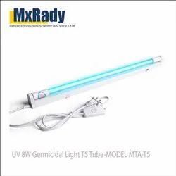 8w Germicidal Light T5 Tube Uvc Germixidal Sterilizer Kill Dust Mite Eliminator Uv Quartz Lamp