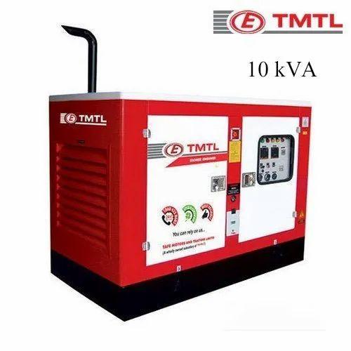 Manual Tmtl 10 Kva Air Cooled Silent Diesel Generator Rs 212130 Unit Id 21162828730