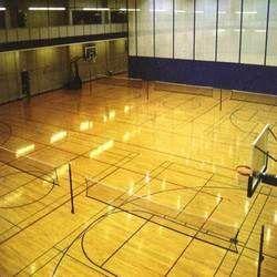 Squash Court Air Crush Wooden Flooring